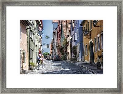 Rothenburg #2 Framed Print by Wade Aiken