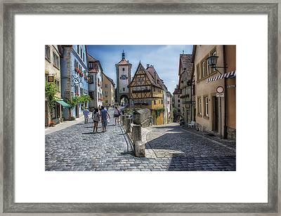Rothenburg Framed Print by Wade Aiken