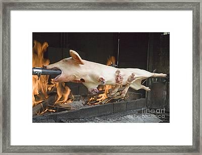 Rotisserie Framed Print by Ladi  Kirn