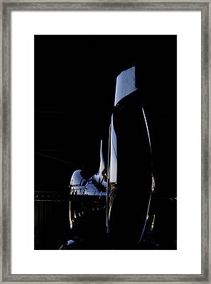 Rotor Tail  Framed Print by Paul Job