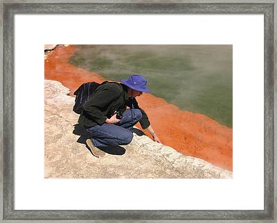 Rotorua New Zealand 2 Framed Print by Mariusz Kula