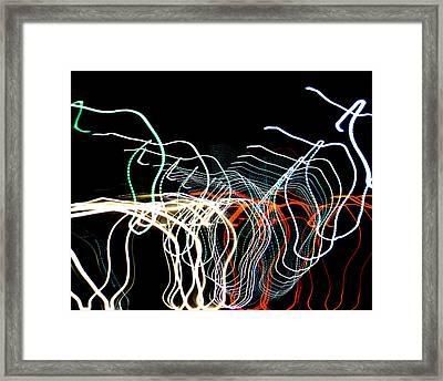 Rototorsion 2 Framed Print by Lynda Lehmann