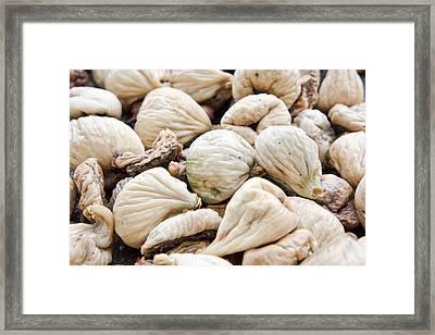 Rotten Figs Framed Print by Tom Gowanlock