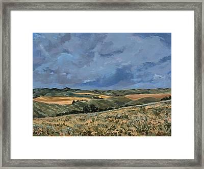 Rotten Grass Framed Print