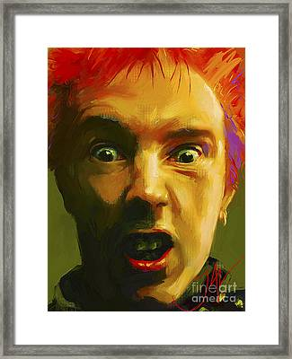 Rotten Framed Print by John Lowther