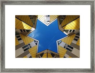 Rotterdam Kubuswoningen Framed Print by Nina Papiorek