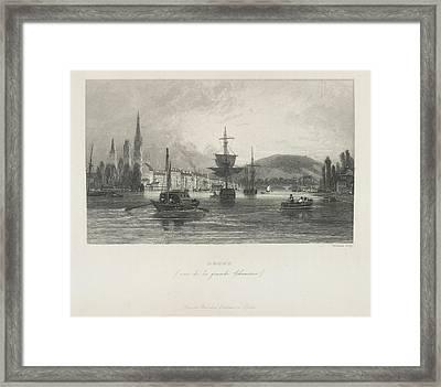 Rouen Framed Print