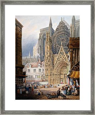 Rouen Cathedral Framed Print