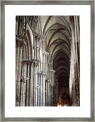 Framed Print featuring the photograph Rouen by Mary Bedy