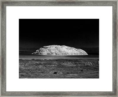 Rough African Landscape Framed Print by Guillermo Hakim