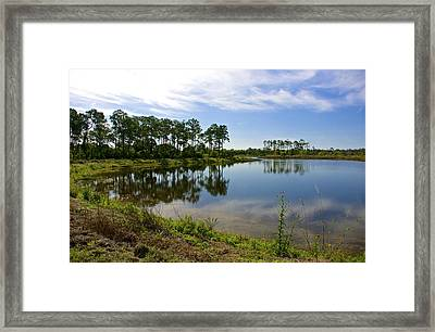 Rough Edges Framed Print