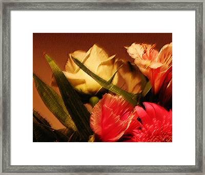 Rough Pastel Flowers - Award-winning Photograph Framed Print by Gerlinde Keating - Galleria GK Keating Associates Inc