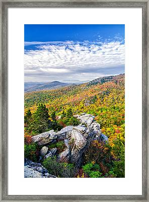 Rough Ridge Fall Framed Print