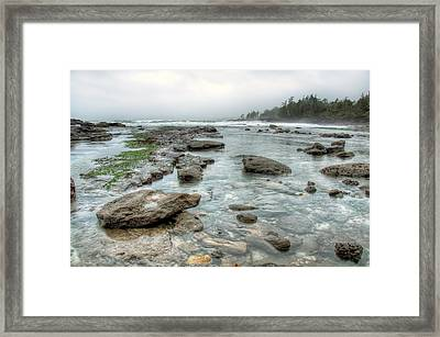 Rough Waters Framed Print by James Wheeler