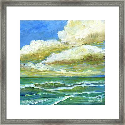 Rough Waters Framed Print by Maria Williams