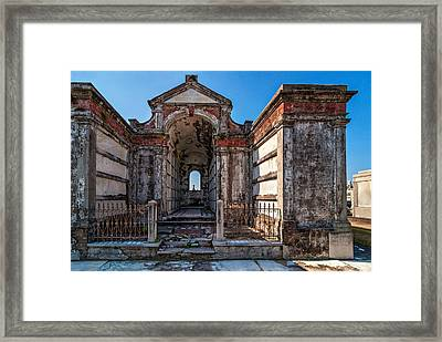 Roughing It Framed Print