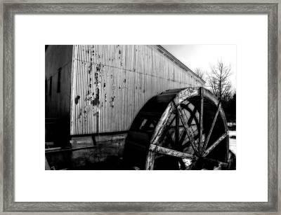 Round And Round Framed Print by Frank Sciberras