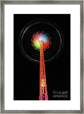 Round And Round  Framed Print by Hannes Cmarits