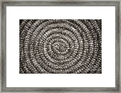 Round And Round Framed Print by John Farnan