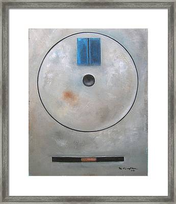 'round Midnight Framed Print by Martel Chapman