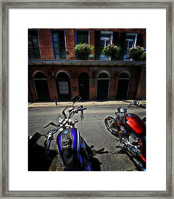 Round N Rounds Framed Print
