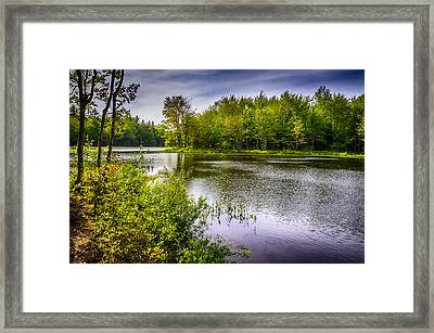 Round The Bend 35 Framed Print by Mark Myhaver