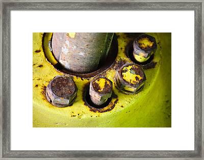 Round The Bend Framed Print by Christi Kraft