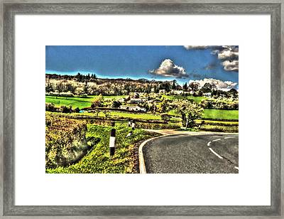 Framed Print featuring the photograph Round The Bend by Doc Braham