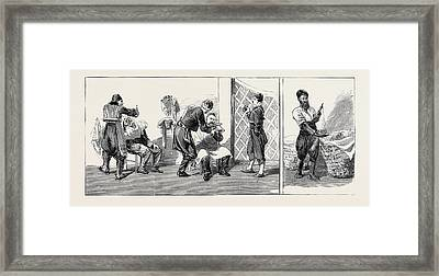 Round The World Yachting In The Ceylon Constantinople Framed Print