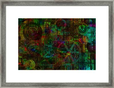 Round Things Framed Print by Jack Zulli