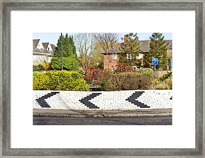 Roundabout Framed Print by Tom Gowanlock