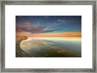 Rounded Reflections Framed Print