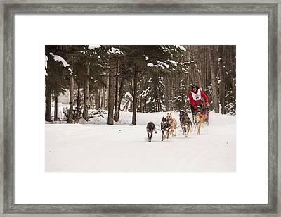 Rounding A Corner Framed Print by Tim Grams