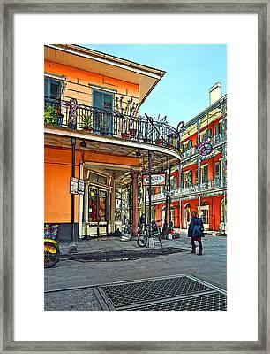 Rouses Market Painted Framed Print by Steve Harrington