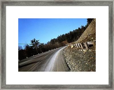 Route 6  #7 Framed Print by David M Davis