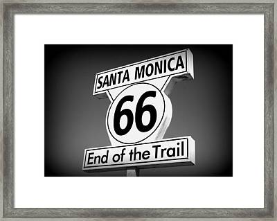 Route 66 Framed Print by David Nicholls