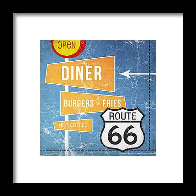 Diner Framed Prints