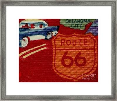 Route 66 Oklahoma City Framed Print