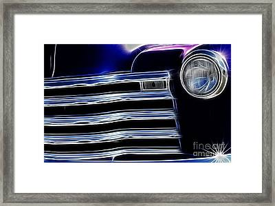 Route 66 Well Grilled Framed Print by Bob Christopher