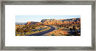 Route 84 Nm Usa Framed Print