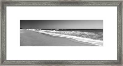 Route A1a, Atlantic Ocean, Flagler Framed Print