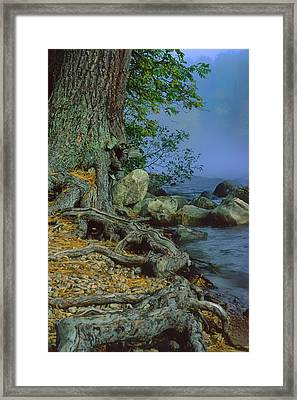 Framed Print featuring the photograph Route Of The Voyageurs by Gary Hall