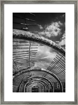 Route To Freedom Framed Print by Arkady Kunysz