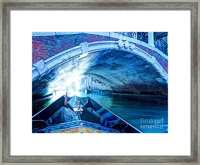 Framed Print featuring the photograph Route To Light by Hanza Turgul