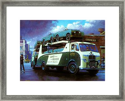 Rovers For Export. Framed Print by Mike  Jeffries