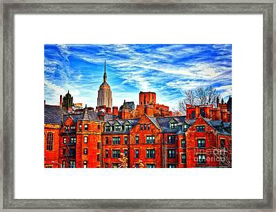 Row Houses On The Highline Framed Print