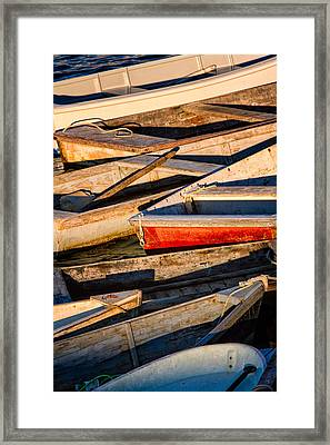 Row Row Row Your Boat Framed Print
