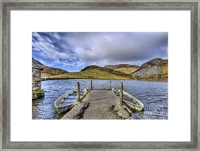Row Ya Boat  Framed Print by Darren Wilkes