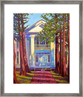 Rowan Oak Framed Print