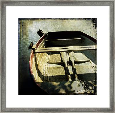 Rowboat Framed Print by Bernard Jaubert